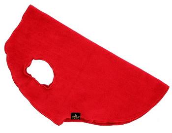 Gold Paw Stretch Fleece - Red