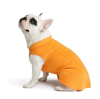 Gold Paw Stretch Fleece - Pumpkin