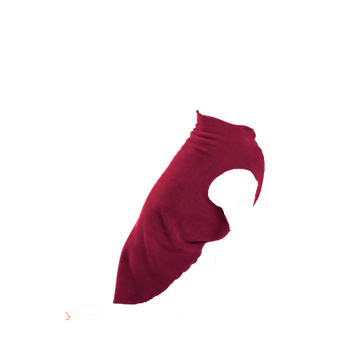 Gold Paw Stretch Fleece - Garnet