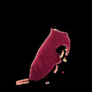 Gold Paw Stretch Fleece - Garnet