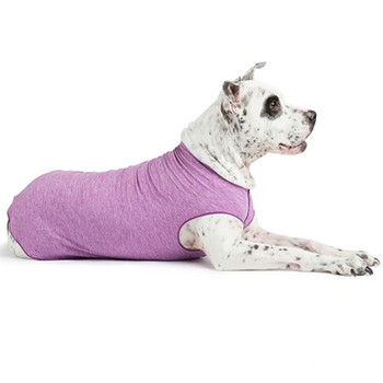 Sun Shield Pet Dog Tee - Violet Heather
