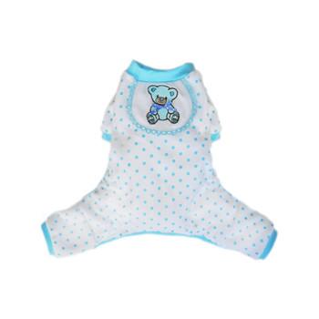 Blue Teddy Dog Pajamas