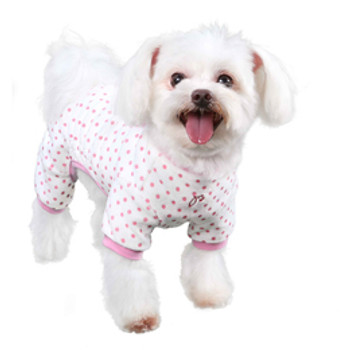 Pink Teddy Dog Pajamas