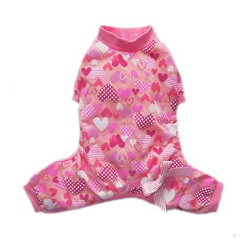 Heart Dog Pajamas