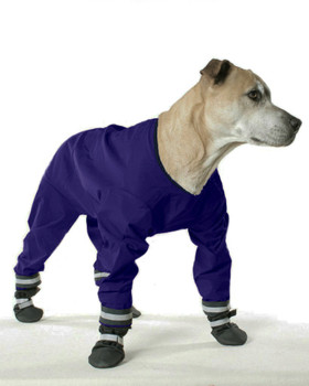 Dog Jog Rain Suit  - Navy