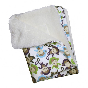 Ultra Soft Minky Monkey Dog Pajamas & Optional Blanket