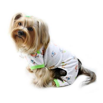 Party Animals Cotton Knit Dog Pajamas