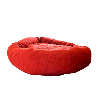 Wine Red Pet Dog Bed