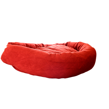 Tough Wine Red Large Dog Bed