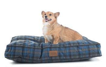 Crescent Lake Plaid Pet Napper Pendleton Dog Bed