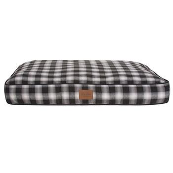 Charcoal Ombre Plaid Pet Napper Pendleton Dog Bed