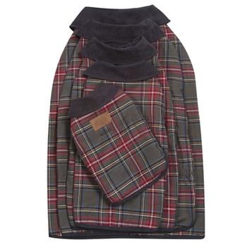 Pendleton Grey Stewart Tartan Dog Coat
