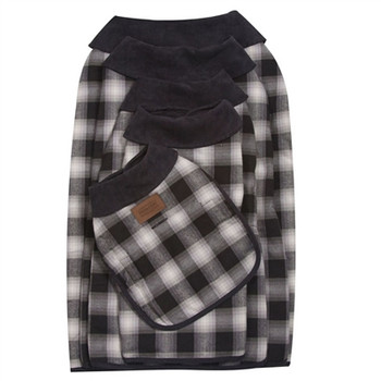 Pendleton Charcoal Ombre Dog Coat