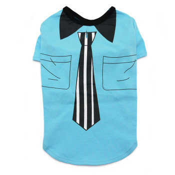 Necktie Dog T-Shirt