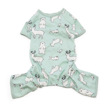 Blue Polar Bear Dog Pajamas