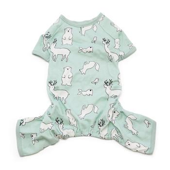 Blue Polar Bear Dog Pajamas