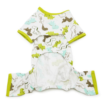 Green Dinosaur Dog Pajamas