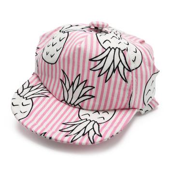 Pineapple Pink Pet Dog Visor / Hat