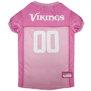 Pink Minnesota Vikings Dog Jersey