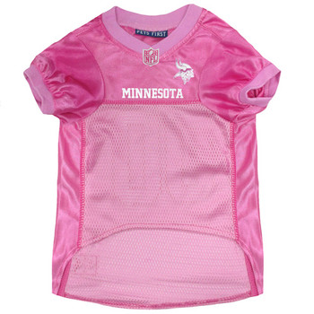Minnesota Vikings Pink Pet Jersey