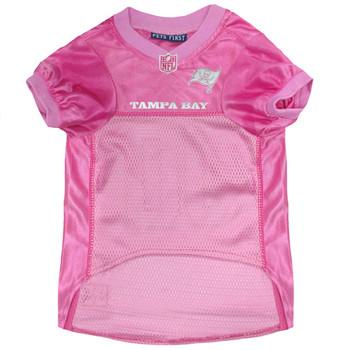 Tampa Bay Buccaneers Pink Pet Jersey