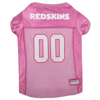 Washington Redskins Pink Pet Jersey