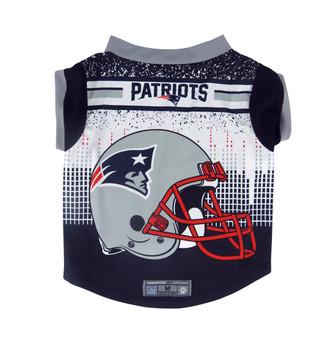 NFL Performance Pet Dog Tee - New England Patriots