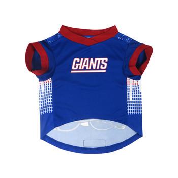 NFL Performance Pet Dog Tee - New England Giants