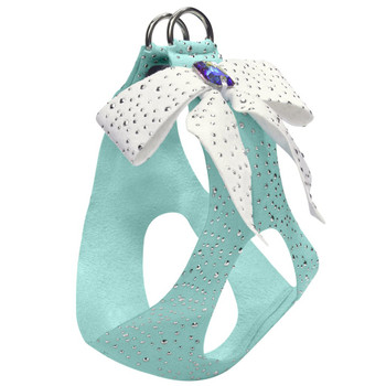 Tiffi Gift Silver Stardust Tail Bow Emerald Step-In Harnesses