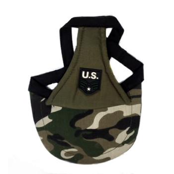 US Army Camo Dog Visor Cap