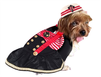 Captains Mate Pet Dog Costume