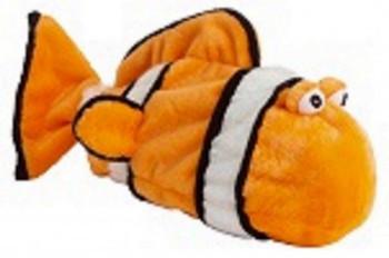 Clownfish Plush Bottle Pet Dog Toys