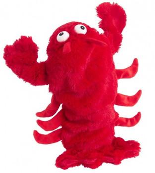 Red Lobster Plush Bottle Pet Dog Toys
