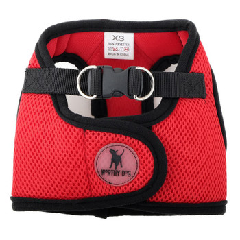 Worthy Dog Step-in Sidekick Dog Harness - Red