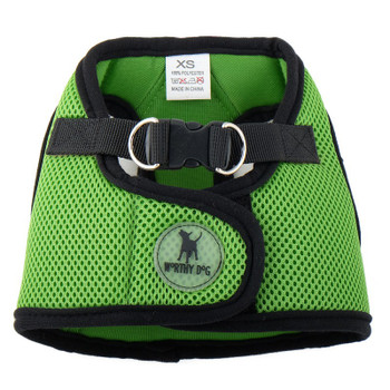 Worthy Dog Step-in Sidekick Dog Harness - Lime