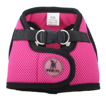 Worthy Dog Step-in Sidekick Dog Harness - Pink