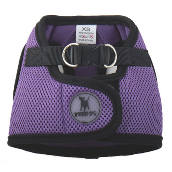 Worthy Dog Step-in Sidekick Dog Harness - Purple
