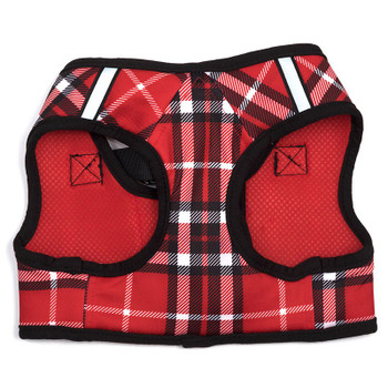 Worthy Dog Step-in Sidekick Dog Harness - Red Plaid