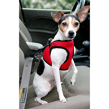 Worthy Dog Step-in Sidekick Dog Harness - Red Houndstooth