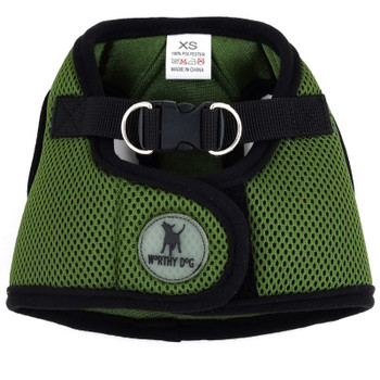 Worthy Dog Step-in Sidekick Dog Harness - Green