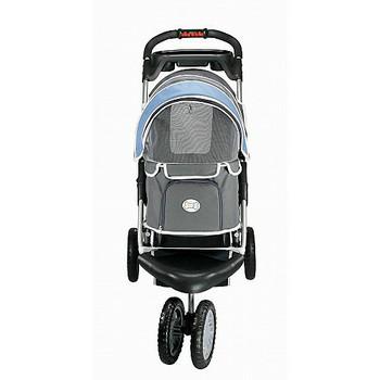 1st Class Dog Jogger Stroller - Blue - 3 Wheeled