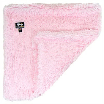 Luxury Pet Dog Blanket- Bubble Gum Pink Shag - 6 sizes