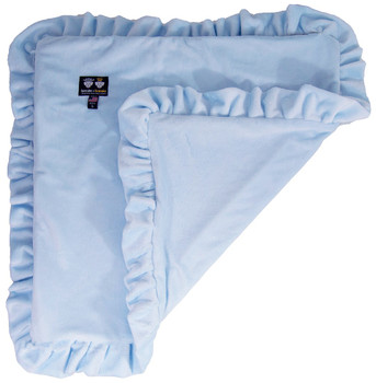 Minky Luxury Pet Dog Blanket- Heavenly Blue - 6 sizes