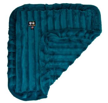Minky Luxury Pet Dog Blanket- Aqua Wonderland - 6 sizes