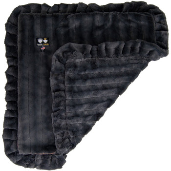 Minky Luxury Pet Dog Blanket- Gravel Stone - 6 sizes