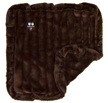 Minky Luxury Pet Dog Blanket- Godiva Brown - 6 sizes