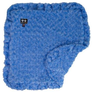 Rosebud Minky Luxury Pet Dog Blanket- Blue Sky - 6 sizes