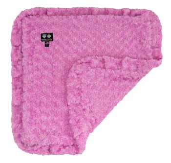 Rosebud Minky Luxury Pet Dog Blanket- Cotton Candy - 6 sizes
