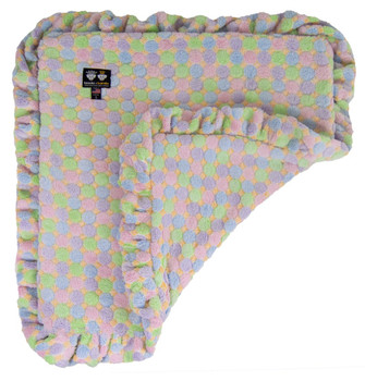 Minky Luxury Pet Dog Blanket- Ice Cream - 6 sizes