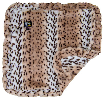 Minky Luxury Pet Dog Blanket- Aspen Snow Leopard - 6 sizes